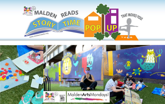 Malden Reads Story Time Successful Summer and Beyond!